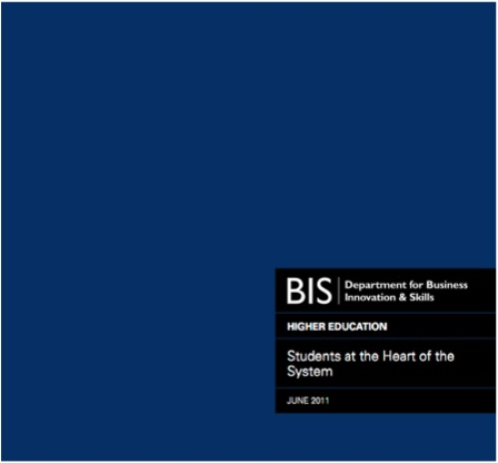 Government higher education white paper 2011