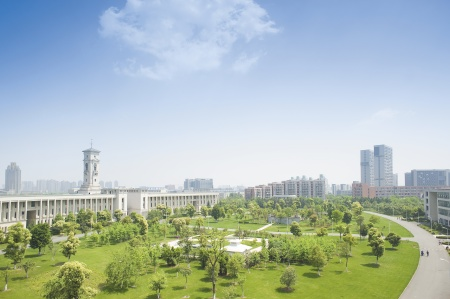 Campus at University of Nottingham Ningbo China