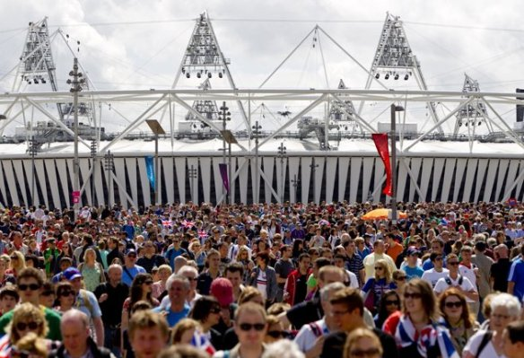 London 2012 crowd