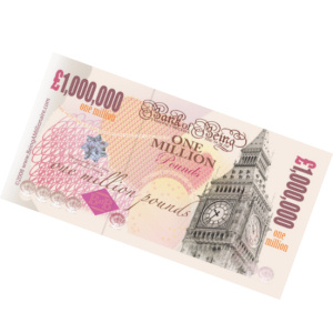 Million pound note