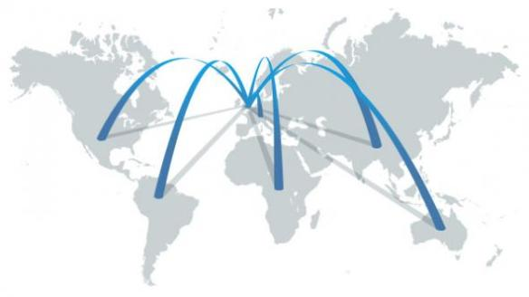 map-global-connections